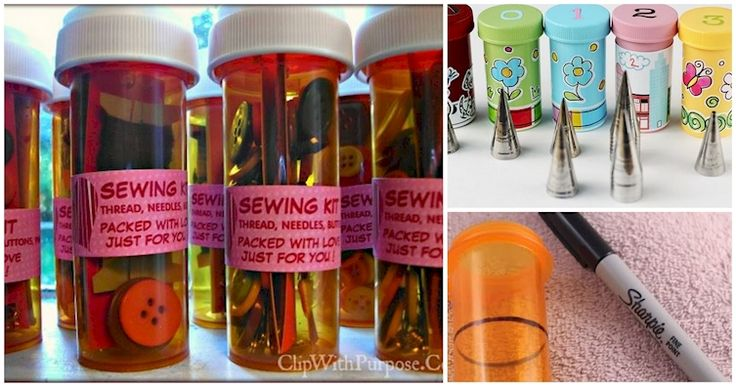 Upcycle Your Pill Bottles So You Can Get Rid Of All Kinds Of Headaches Without Aspirin