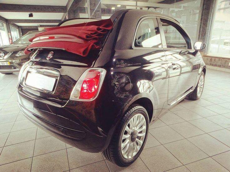 Fiat 500C 1.2 Cabrio 2013 26.000 Kms 149 euros/mês 11.300  resposta em menos de 1 hora!! #estorilcar #estoril #fiat #fiat500 #cabrio #cabriolet #novidades #qualidade #seminovos #instacar #insta