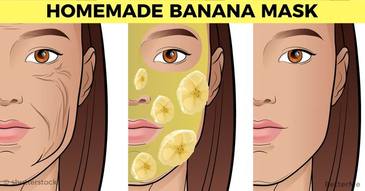 Save these 4 recipes for masks that will make you skin glowing. Banana nutrients, vitamins A, B, E, and Potassium will make you a beauty queen. 1. Put mashed ba