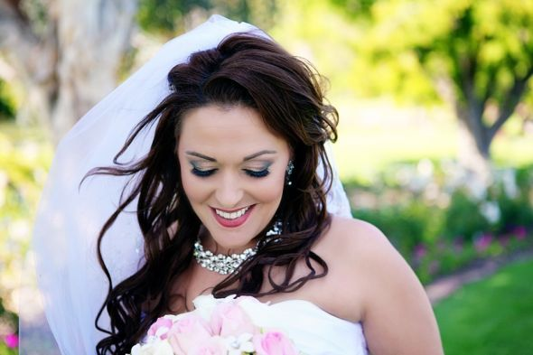 Let's see your bridal makeup pics! Were you happy with your look? « Weddingbee Boards