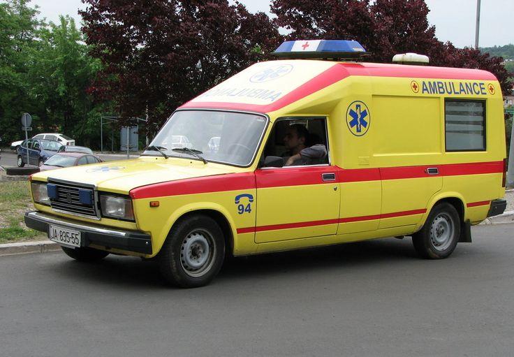 Lada 2107 Ambulance - Serbia And Montenegro.