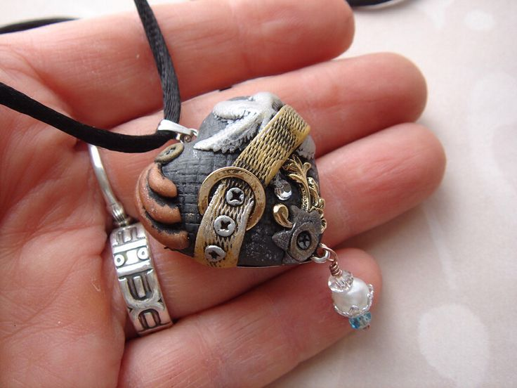 Steampunk hearts by Marie Segal