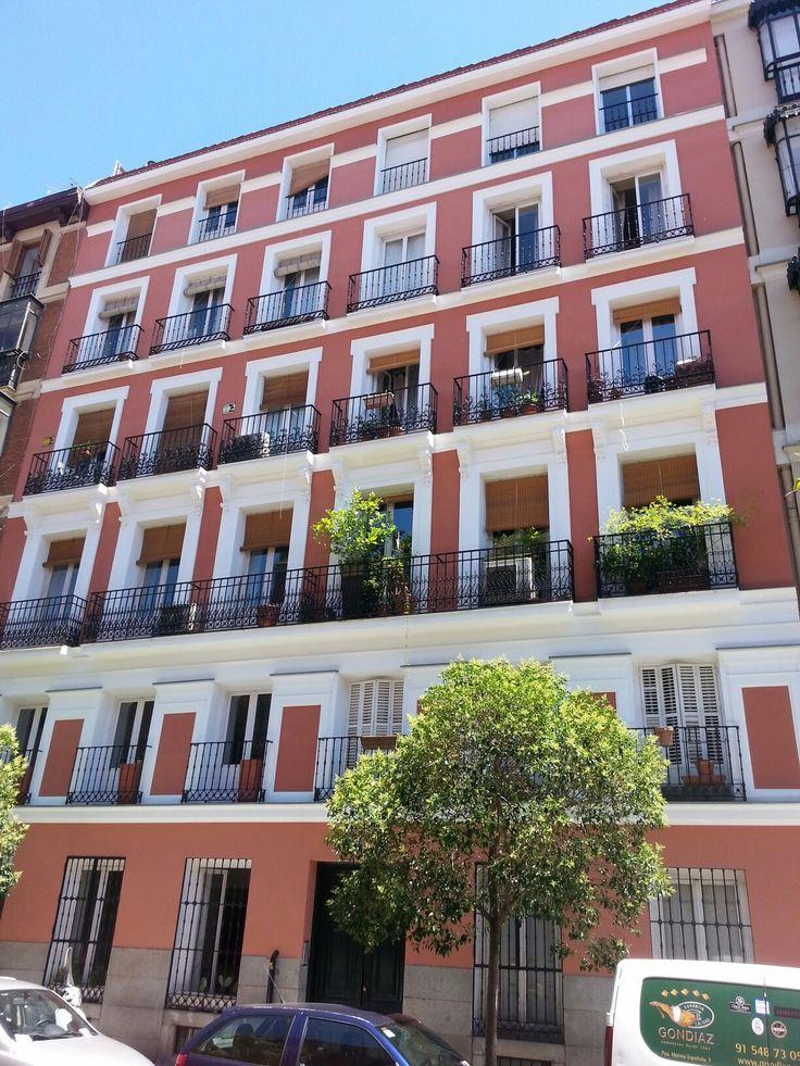 Rehabilitacion Integral de Edificio en Madrid Fachada, Rehabilitación Energética,  Cubierta