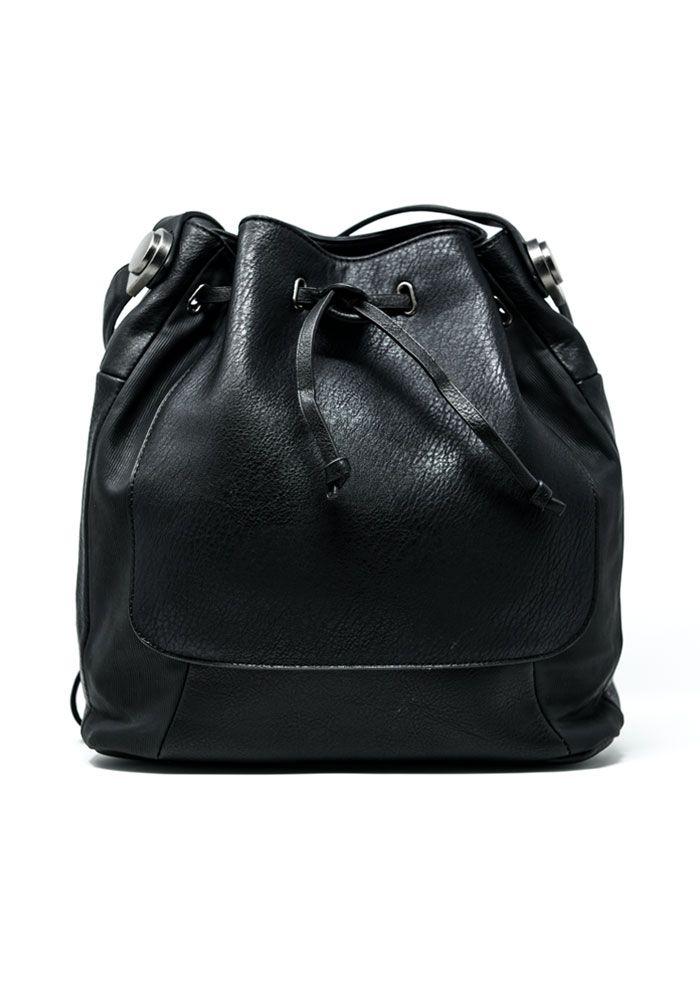 Τσάντα πουγκί με δύο λουριά