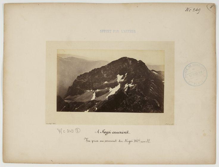 Negoiu peak (2522 m) seen from SE