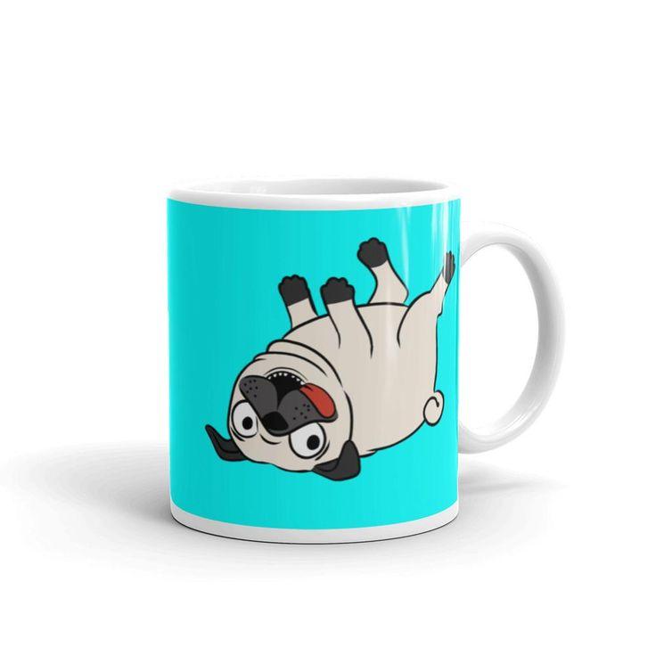 Pug Mug now at BeefyTeez.com  http://beefyteez.com/products/pug-mug?utm_campaign=social_autopilot&utm_source=pin&utm_medium=pin