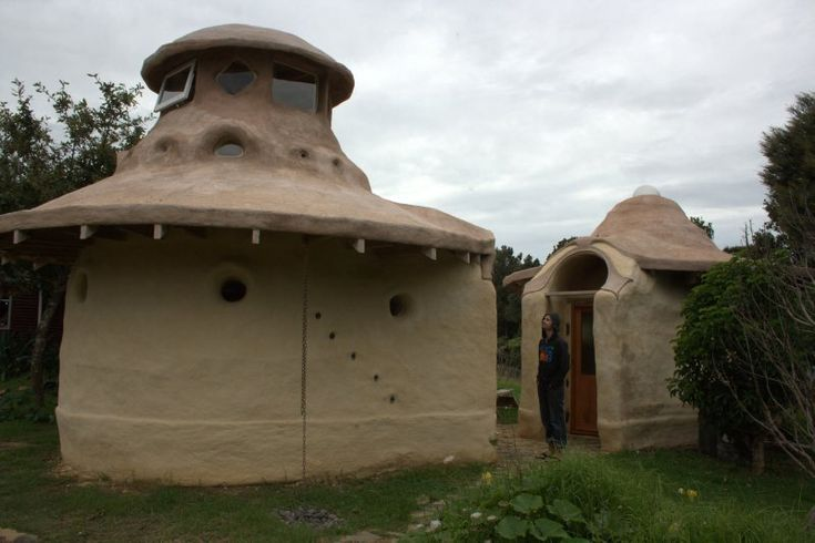 Solscape Eco Retreat at Raglan has these Earth Domes a NZ  Rail carriage and IndianTipi's for use in summer