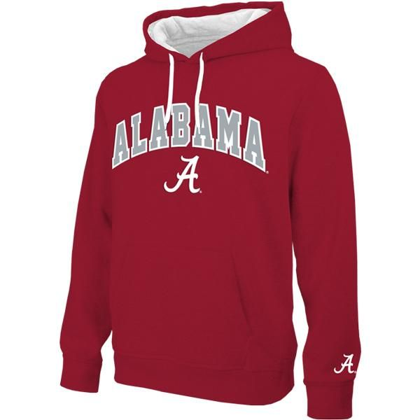Genuine Stuff Oklahoma Sooners Youth Black Tackle Twill Hooded Sweatshirt