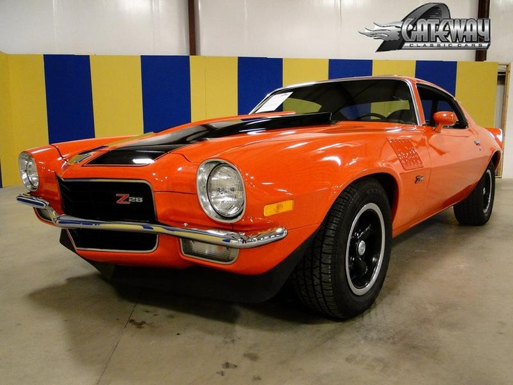1973 chevrolet camaro z28 - photo #26
