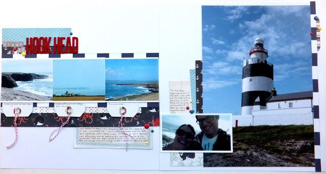 The Crafty Grockle: Take Inspiration from a Travel Scrapbook Page
