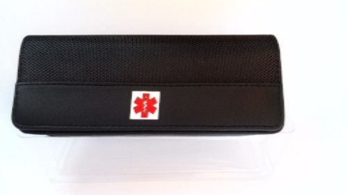 WaistBuddy II™ Epipen Leather Case for First Aid Emergency Kits and more.