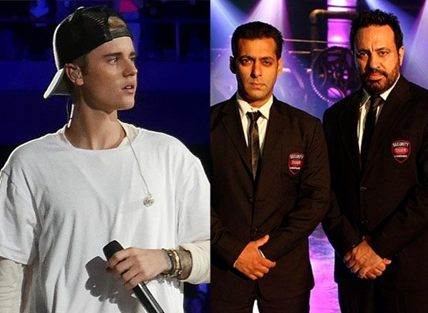 Salman Khan's bodyguard Shera to take care of Justin Bieber's security! #FansnStars