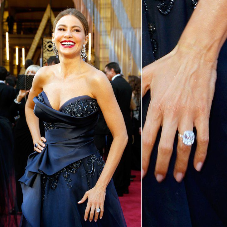 Sofia Vergara Wedding Ring: Actresses, Celebrity Engagement Rings And