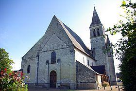 Église Saint-Martin de Restigné (37140).
