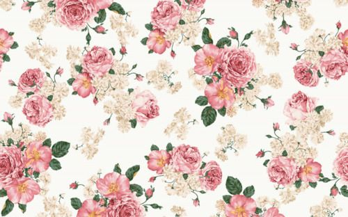 floral print background tumblr - Google Search