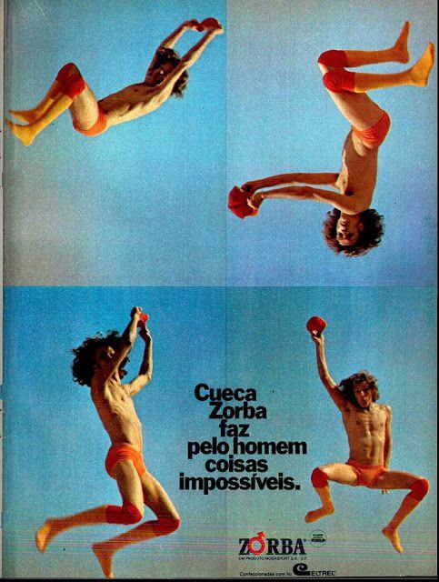 Cueca Zorba (Coisas Impossíveis) - 1973