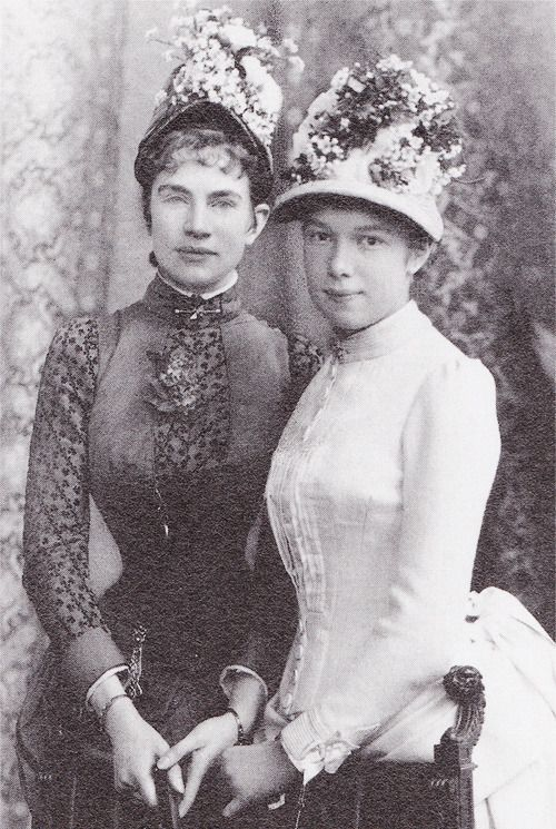 Archduchesses Gisela and Marie Valerie Empress Sissi's daughters