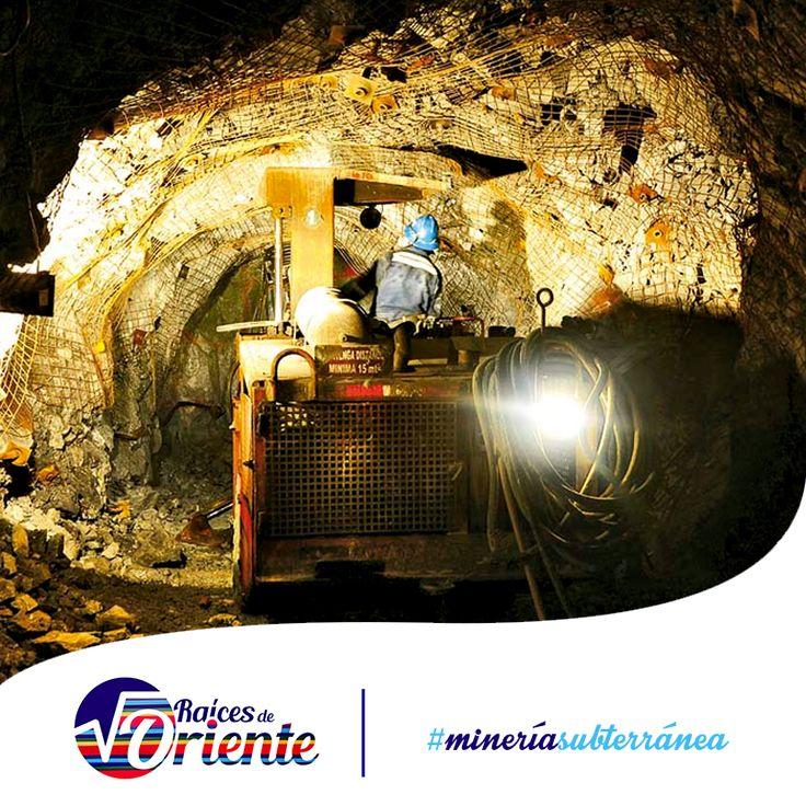 #SabíasQue las minas subterráneas se abren en zonas con yacimientos minerales prometedores. El pozo es la perforación vertical principal y se emplea para el acceso de las personas a la mina y para sacar el mineral.