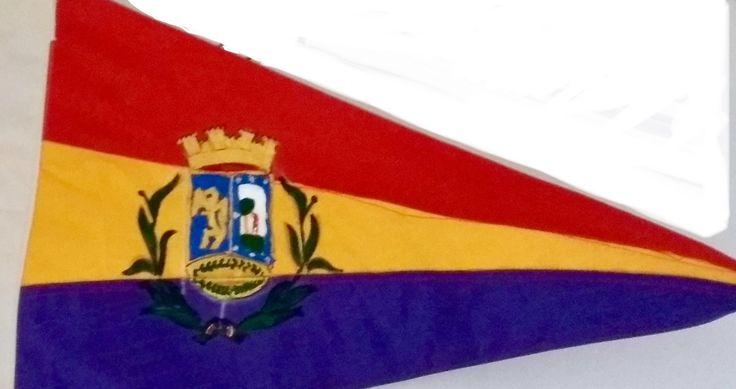 Gallardete de la Laureada de Madrid 1937. GC bando Republicano.
