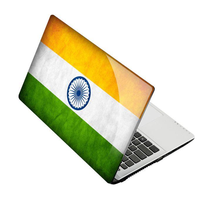 #asus15 #India #tricolour #orange #white #green http://skin4gadgets.com