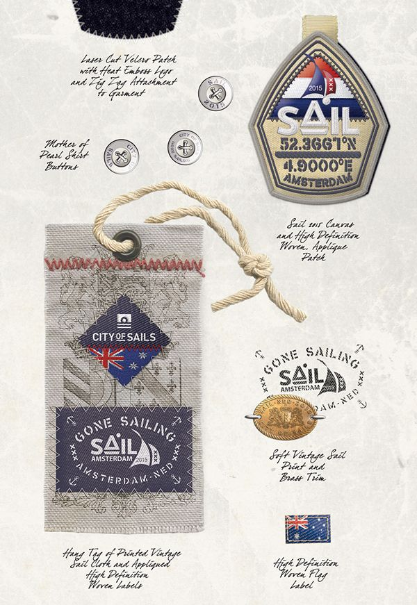 Mens Apparel Graphics -Art Direction & Design, Nautical by Richard Schonegevel, via Behance