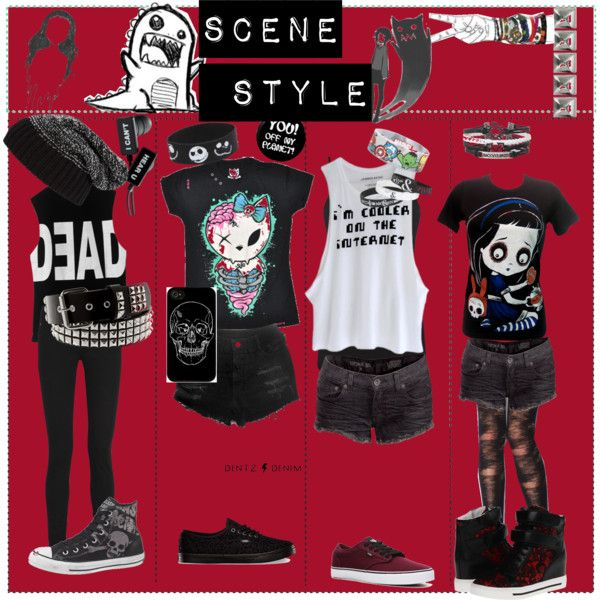 Goth/Emo clothes...I wouldn't wear all of them but most of it is cute