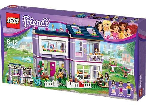 LEGO FRIENDS 41095 Emmas hus