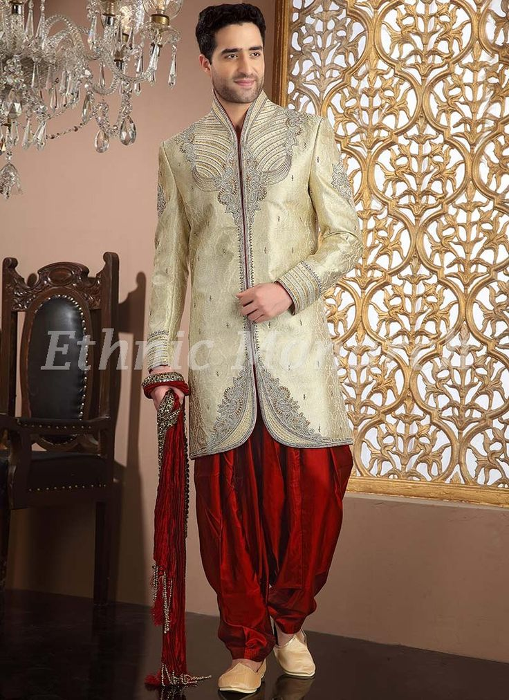 Indo western dress gents place