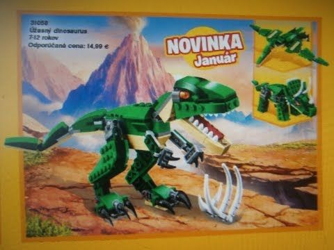 Dinosaurs Toy LEGO Creator 31058 New in 2017 Catalog 3/4 in 1