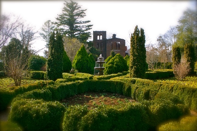 The English Garden at Barnsley Gardens Resort