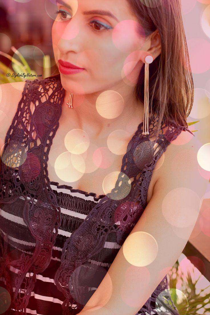 BLOGGED: Shalini Chopra,blogger StylishByNature in Youshine earrings. #blogger #stylishbynature #danglers  Shop these earrings here >> http://buff.ly/1GTPwbn