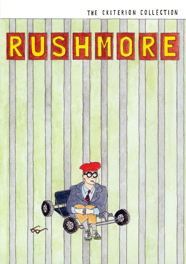 Rushmore (1998) Movie Poster 24x36 Wes,erson movies