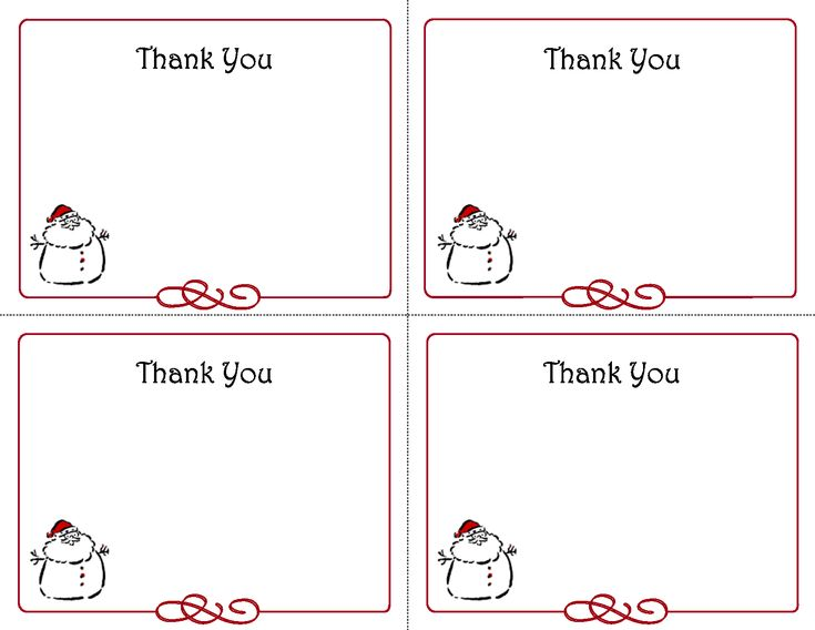 22 Images Of Printable Template Thank You Card | Splinket ...