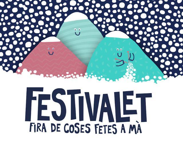 Festivalet - Fira de Coses Fetes a Mà - Desembre - Barcelona