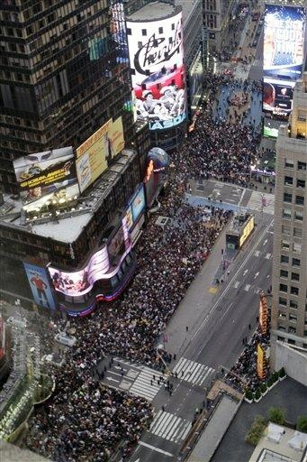 99 (+1) % Occupy Wall Street, Oct 15, 2011