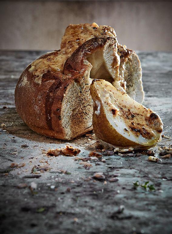 Salted caramel and almond butter / Photographs @adel_ferreira / Production & Styling: Maranda Engelbrecht Recipes: Karen Pretorius / Location: Babylonstoren #recipes #foodstyling #bread #butter #almond #salted caramel