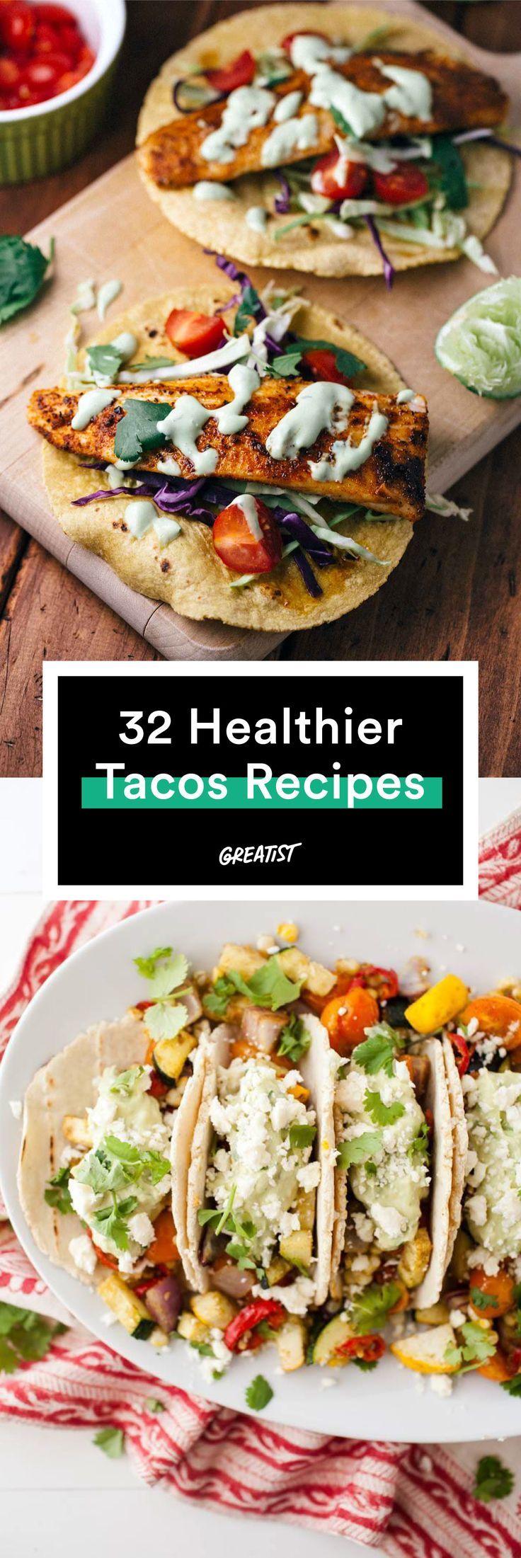 Turn every night into Taco Tuesday. #healthy #taco #recipes http://greatist.com/eat/healthy-taco-recipes