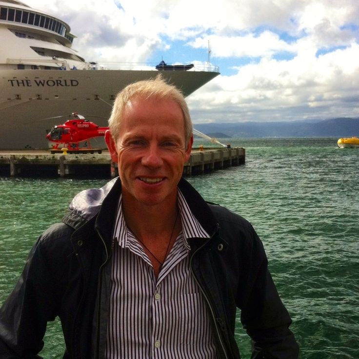 The World Cruise Ship docked in #Wellington Harbour