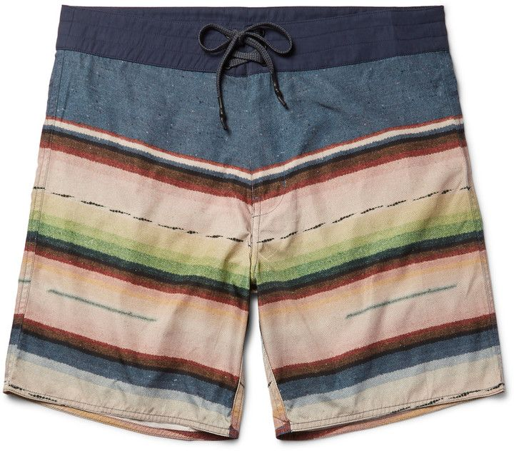 Outerknown Evolution Long-Length Printed ECONYL® Swim Shorts