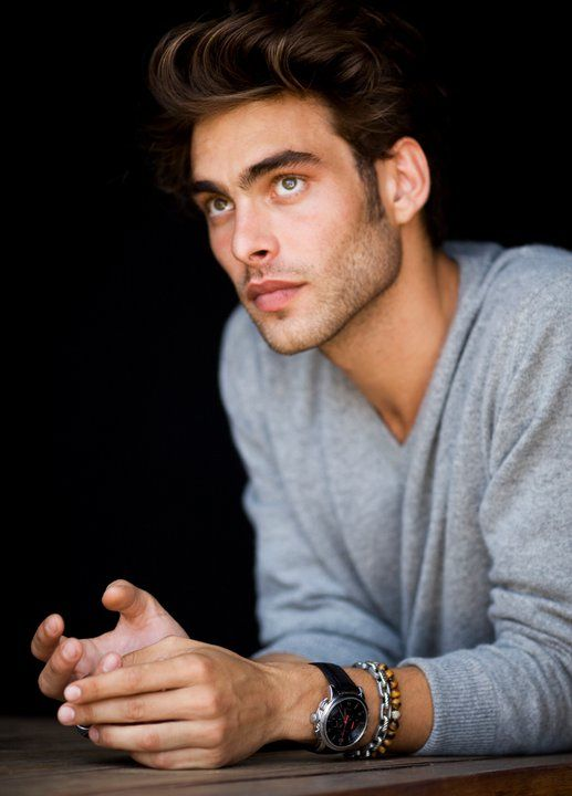Jon Kortajarena. The eyes. The lips. The hair. That smile. My Spanish pride.