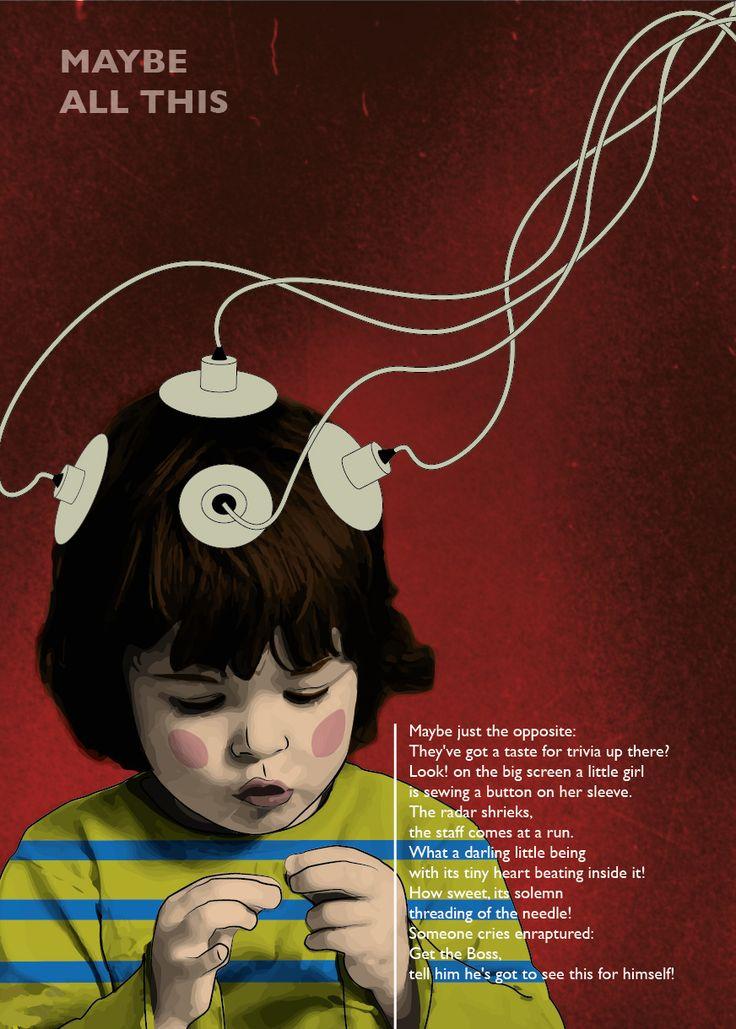 the Szymborska Project by Anton Krohn  #illustration
