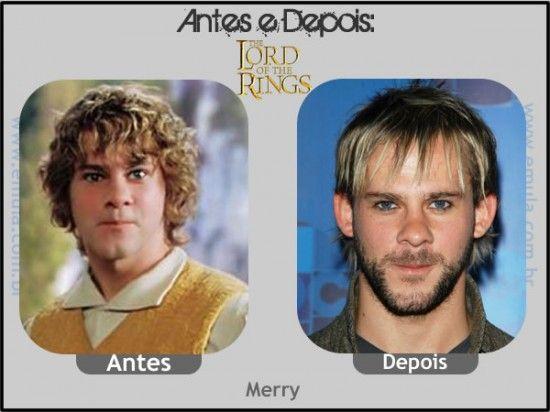 O SENHOR DOS ANÉIS - Merry