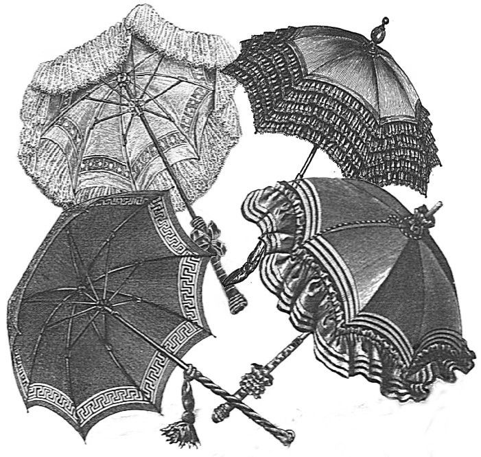 Victorian Parasol Cover Pattern