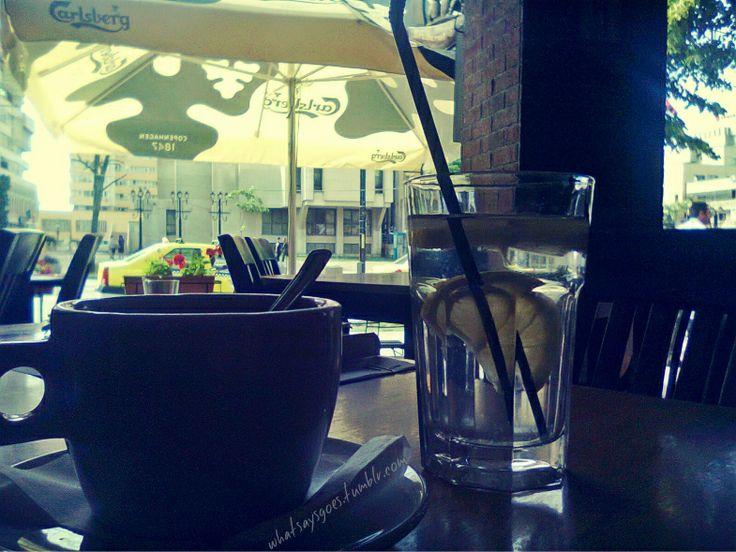 finest times / sun, lemon water & coffee