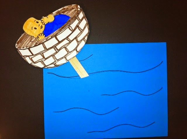 Supplemental Gospel Project for Kids crafts and activities : Unit 5 Session 1 Moses was Born