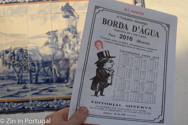 Klopt het wat de almanak Borda D'Água voorspelt? Lees het op https://zininportugal.wordpress.com/2016/01/12/het-project-knolselderij/