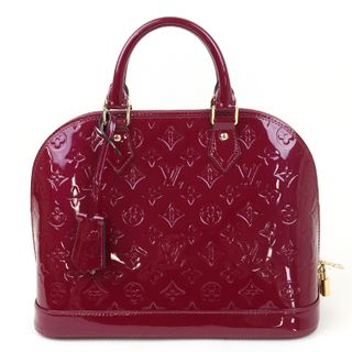 [中古]ルイヴィトン ヴェルニ アルマPM マゼンタ ハンドバッグです。女性らしい華やかな色合いです。/新品同様・極美品・美品の中古ブランドバックを格安で提供いたします。