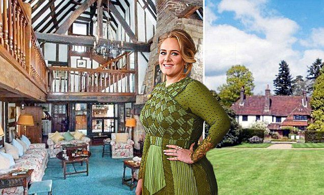 The Rolling In The Deep singer has bought a £4 million mansion in the town of East Grinstead, Sussex. Adele and husband Simon Konecki have bought an 18th Century manor house.