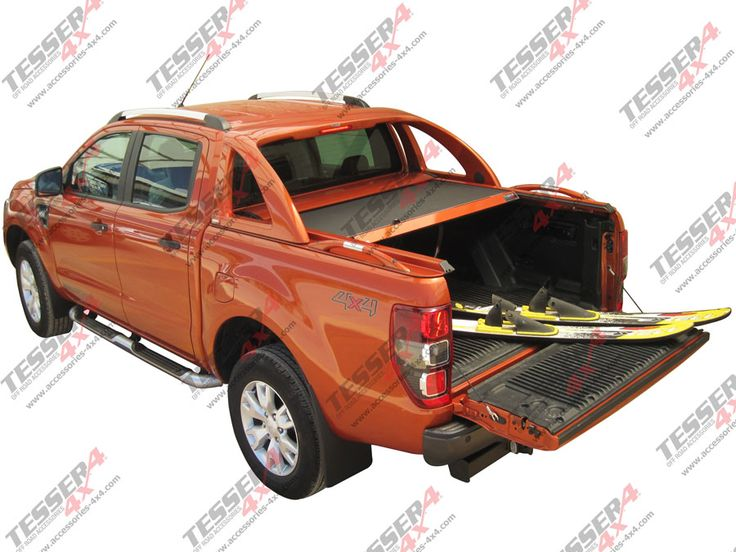 #Aluminum #roller #lid #shutter for #new #Ford #Ranger #T6 #double & #space #cab