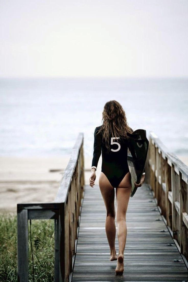 Gisele Bündchen, la surfera con más glamour de Chanel Nº5